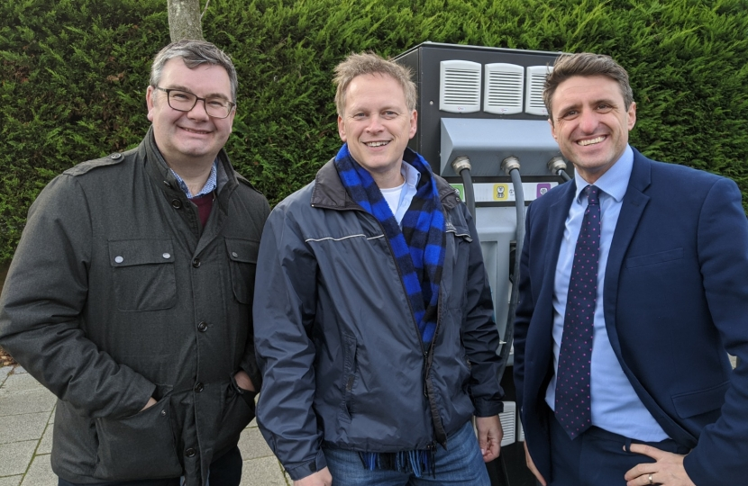 Iain and Ben with Grant Shapps